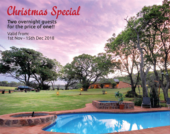 Christmas Special : Two overnight guests for the price of one!!